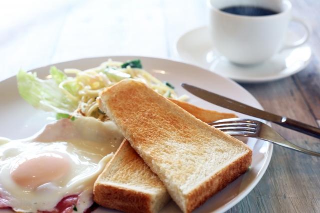 2. 当日の朝ご飯をしっかり取る