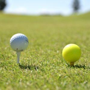 初心者必見!ゴルフのティーの高さが毎回安定する挿し方のコツ!