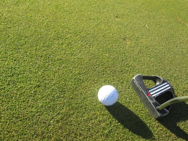 2. パターで膝の角度を伸ばした方がいいタイプのゴルファー