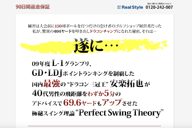 第4位 PERFECT SWING THEORY
