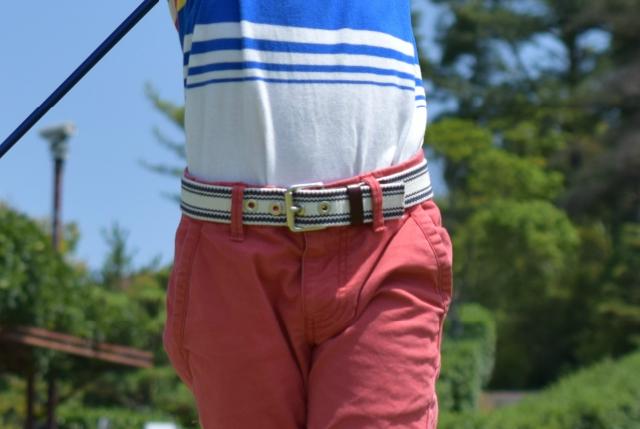 1. ゴルフウェアとのコーディネートにおすすめなベルトのカラー