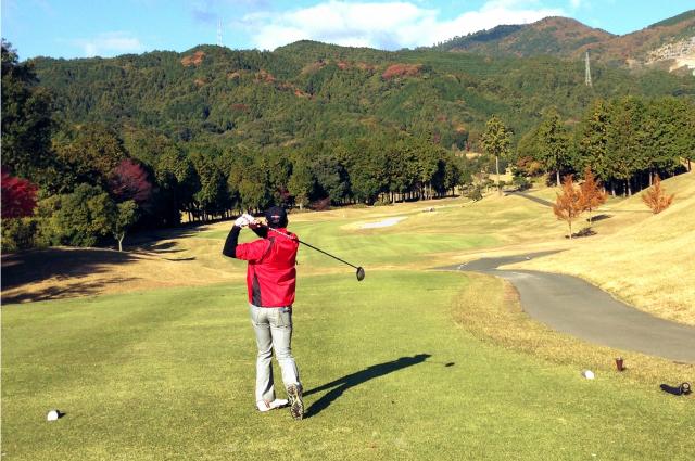 4. ゴルフボールケースの邪魔にならないセット位置