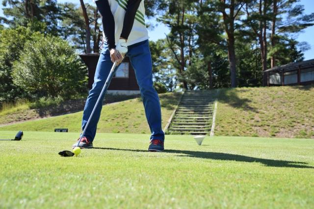 1. ユーティリティのアドレスでのゴルフボールの位置の基本!